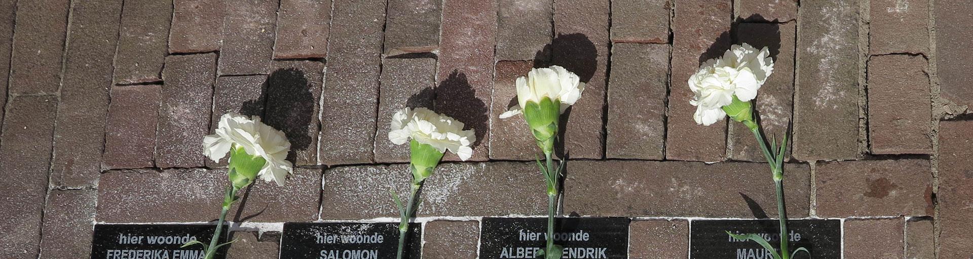 Herdenkingsstenen Amersfoort - Wij zullen hun namen niet vergeten