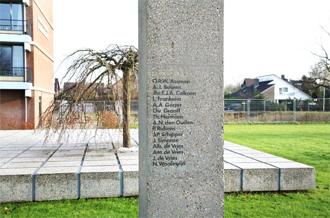 Het monument in Rustenburg voor de verzetsstrijders